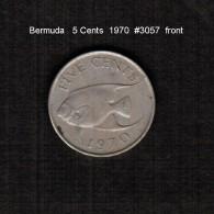 BERMUDA    5  CENTS  1970  (KM # 16) - Bermudes