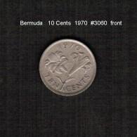BERMUDA    10  CENTS  1970  (KM # 17) - Bermuda