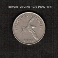 BERMUDA    25  CENTS  1970  (KM # 18) - Bermuda