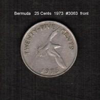 BERMUDA    25  CENTS  1973  (KM # 18) - Bermuda