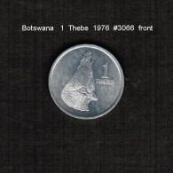 BOTSWANA    1  THEBE  1976  (KM # 3) - Botswana
