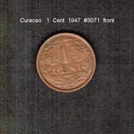 CURACAO    1  CENT  1947  (KM # 42) - Curacao