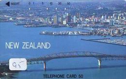 LA NOUVELLE ZÉLANDE Reliée * NEW ZEALAND Related (95)  Télécarte Japon Telefonkarte Phonecard Japan - Paisajes