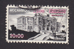 Mozambique, Scott #300, Used, Municipal Hall Surcharged, Issued 1946 - Mozambique