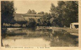 Brioux Sur Boutonne - Le Grand Moulin - Brioux Sur Boutonne
