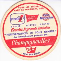 SOUS BOCK  CHAMPIGNEULLES  DES ANNEES 60 - Sous-bocks