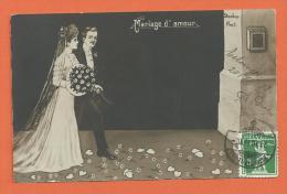 FEL242, Mariage D'Amour, Standes Amt, Fantaisie, Circulée 1913 - Huwelijken