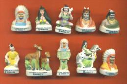 """Serie Complete De 10 Feves Mat  """"  La Legende De Pocahontas  """" 2002 - Disney"""