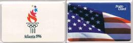 Olympic Games 1996 Germany Porto Card  Atlanta - Zomer 1996: Atlanta