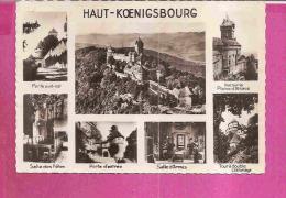 ORSCHWILLER   -   * 7 VUES DU CHATEAU DE HAUT KOENIGSBOURG *   -   Editeur : LA CIGOGNE   N° 67.564.20 - France