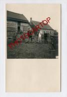 Ferme-Gut-ROLLEGEM-Carte Photo Allemande-Guerre14-18-1WK-BELGIQUE-BELGIEN-Flandern- - Ledegem