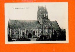 14 CAHAGNES : L'église - Other Municipalities