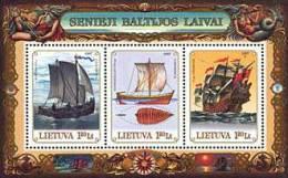 Lietuva Litauen 1997 MNH ** Mi. Nr. 640-642 Bl.11 - Lithuania