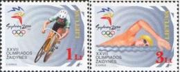Lietuva Litauen 2000 MNH ** Mi. Nr. 735-736 - Lithuania