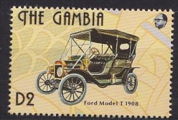 1993 GAMBIE Gambia Henry Ford 1908 Model T ** MNH Voiture Véhicule Camion Car Vehicle Truck Auto Fahrzeug LKW Coc [BO45] - Voitures