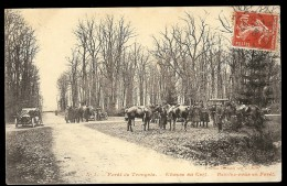 Carte  ALLIER  FORET DE TRONCAIS Une Chasse Au Cerf Rendez-vous En Forêt N 1 - Autres Communes