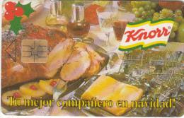 VENEZUELA(chip) - Knorr, 10/96, Used - Alimentación