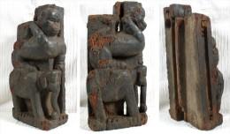 Très Ancien élément De Boiserie Indien - Arte Orientale