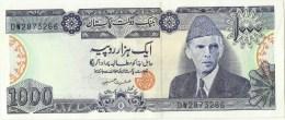 Pakistan Old 1000 Rupees Signature Is Ishrat Hussain 2005 UNC - Pakistan