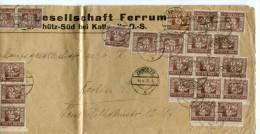 Deutsches Reich Abstimmungsgebiet Oberschlesien Brief 1923 - Germany