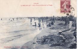 L Aude La Nouvelle Vue Ensemble De La Plage Tres Animée 1925 - Port La Nouvelle