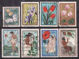 GREECE 1958 Hellas#797-804 Nature Protection, Complete Set, USED - Usati