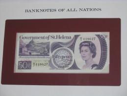 50 Fifty Pence - SAINTE HELENE - St Helena - Billet Neuf  - UNC - !!!   **** EN  ACHAT IMMEDIAT  **** - Isla Santa Helena