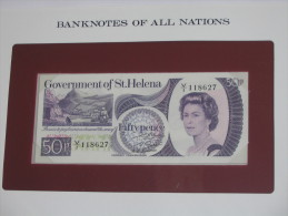 50 Fifty Pence - SAINTE HELENE - St Helena - Billet Neuf  - UNC - !!!   **** EN  ACHAT IMMEDIAT  **** - Sainte-Hélène