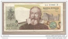 Italia - Banonota Circolata Da 2.000 Lire P-103c - 1983 - 2000 Lire