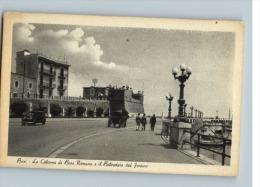 BARI - LE COLONNE DI BARI ROMANA E IL BELVEDERE DEL FORTINO - NON VIAGGIATA - Bari
