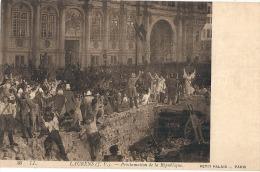 La Révolution - LAURENS  Proclamation - Neuve  Excellent état - Paintings