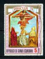 - Repubblica Di GUINEA - Year 1974 - S. PASQUA - San Geronimo -timbrato -stamped -affranchie -gestempelt. - Cristianesimo
