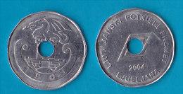 SLOVENIA - Bus Token  LPP  Ljubljana 2004 - Jetons En Medailles