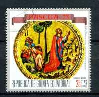 - Repubblica Di GUINEA - Year 1973 - Preghiera Nel Giardino Degli Ulivi - Timbrato - Stamped - Affranchie - Gestempelt.. - Cristianesimo