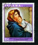 - PANAMA - Year 1968 - Madonna Con Bambino -- Timbrato - Stamped -affranchie -gestempelt. - Cristianesimo