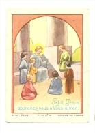 Image Religieuse, Petit Jésus Apprenez-nous à Vous Aimer - Devotieprenten