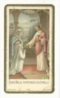 Image Religieuse, Souvenir De Communion Solennelle - Lusignan (86) - Images Religieuses