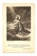 Image Religieuse, Etant Tombé En Agonie.... - Images Religieuses