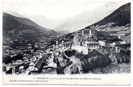 CP, 05, BRIANCON, Pris Du Fort Des Tètes Et Vallée De La Guisane, Vierge - Briancon