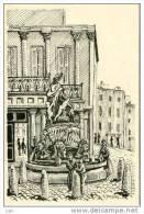 34 - Cpm - ILLUSTRATEUR JEANJEAN - Montpellier - Fontaine Des Etats Du Languedoc En 1830 - No 16 - Montpellier