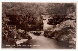 "Real Photo Landscape Postcard By Photochrom Co.Ltd. - "" COMRIE. THE FAIRY POOL , GLEN LEDNOCK  "" , Lot # PCL 5 - Non Classés"