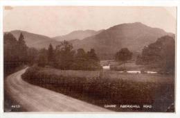 "Real Photo Landscape Postcard By Photochrom Co.Ltd. - "" COMRIE, ABERUCHILL ROAD  "" , Lot # PCL 12 - Non Classés"