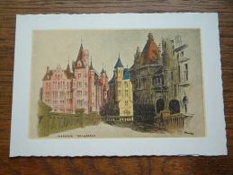 VLEESHUIS - Antwerpen / WENSKAART Dubbel EDV 153 - Anno 19?? ( 17 X 12 Cm. / Zie Foto Voor Details ) !! - Belgique