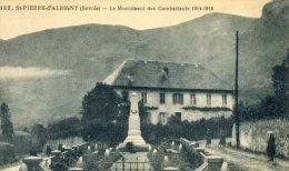 """ST PIERRE D ALBIGNY  ( St P D´alb) """"  Le Monument Des Combattants  """" - Saint Pierre D'Albigny"""