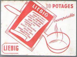 Buvard Liebig Potage Soupe Consommé Velouté ... Cachet Seigle La Ratz Voiron - Alimentaire
