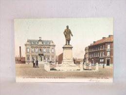 La Louvière. Hôtel De Ville Et Statue Mairaux. - La Louviere