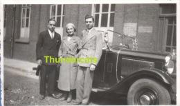 TOURCOING 1933 VOITURE AUTO AUTOMOBILE ** ANCIENNE PHOTO AMATEUR ** VINTAGE AMATEUR SNAPSHOT **  FOTO - Luoghi