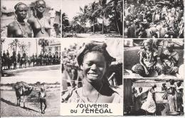 8509 Souvenir Du Sénégale Multivues - Sénégal