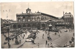 LILLE  La Gare La Poste  - Timbre Décollé - Lille