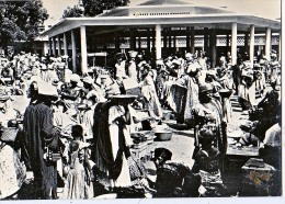 AK GUINEA  Markttag KANKAN  FOTOGRAFIE  GROSSE FORMAT OLD POSTCARD - Guinea